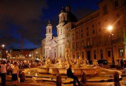 Roma'da Gece Hayatı