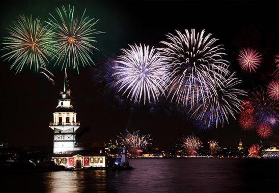 Yeni Yıl Kutlamasıyla Damga Vuran Ülkeler