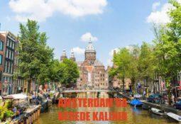 amsterdam'da neler yapılır